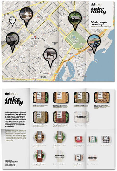 """Delishop Take Away: un packaging """"couleur locale"""""""