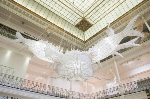 Ai Weiwei au Bon Marché Rive Gauche © Gabriel de la Chapelle