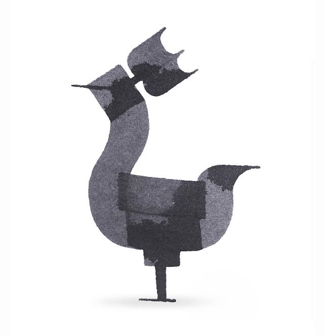 Calligraphy Animals par Andrew Fox