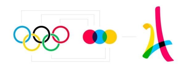 Le logo des JO de Paris 2024 par l'agence Dragon Rouge