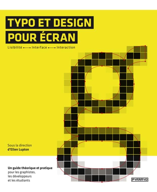 """""""Typo et design pour écran"""" édité par Pyramid"""