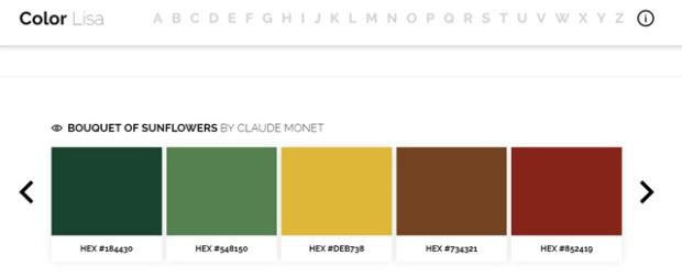 Inspirationsgraphiques-Ryan-McGuire-photographe-designer-ColorLisa-palettes-couleurs-artistes-Hexadecimaux-œuvre-peintre-Monet-Picasso-VanGogh-01