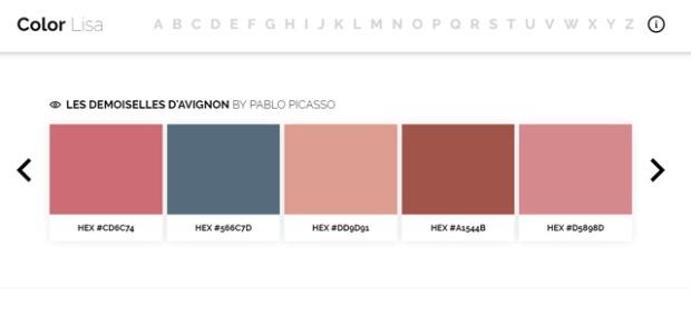 Inspirationsgraphiques-Ryan-McGuire-photographe-designer-ColorLisa-palettes-couleurs-artistes-Hexadecimaux-œuvre-peintre-Monet-Picasso-VanGogh-03