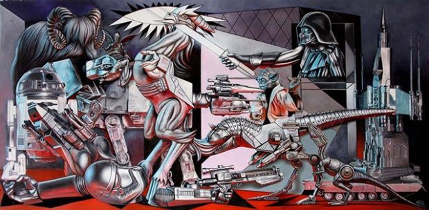 inspirationsgraphiques-ron-english-guernica-popaganda-pablo-picasso-pop-culture-allouche-gallery-01