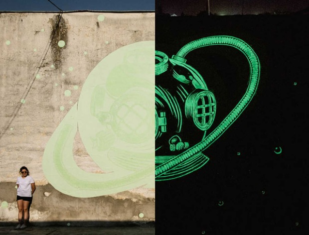 inspirationsgraphiques-streetart-peinture-phosphorescente-graphistes-illustrateurs-maria-lopez-javier-riba-reskate-studio-art-graphique-fresques-murales-01