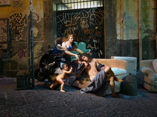 inspirationsgraphiques-da-directeur-artistique-formation-graphisme-art-alexey-kondakov-visuels-naples-italie-peinture-anges-muses-mythologique-photomontages-02