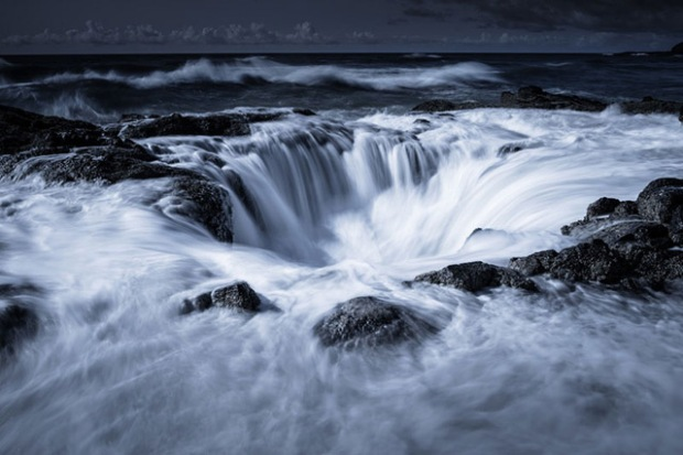 """Thor's Well"", USA - Tom Jacobi"
