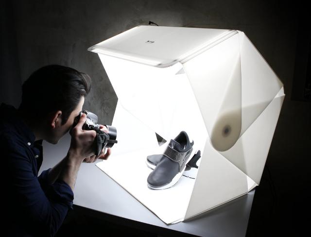 Ordinaire Un Studio Photo Portable, Pliable Et Hyper Pratique | INSPIRATIONS  GRAPHIQUES