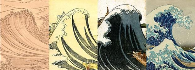 Inspirationsgraphiques-japon-Histoire-estampe-art-japonais-evolution-grande-Kanagawa-formation-artistique-vagues-Hokusai-01
