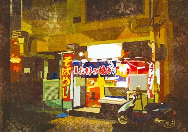 Inspirationsgraphiques-rue-Masashi-Shimakawa-Japon-formation-illustrateur-techniques-illustration-palette-couleur-originale-jeu-texture-06