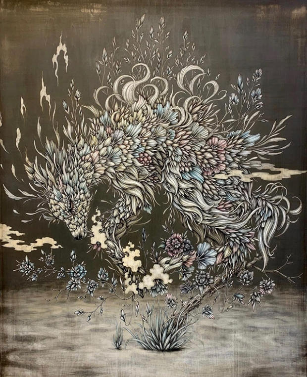 Inspirationsgraphiques-dessin-formation-illustration-artiste-japonais-Manabu-Endo-portraits-stylo-bille-aquarelle-illustrations-plantes-animaux-personnage-05