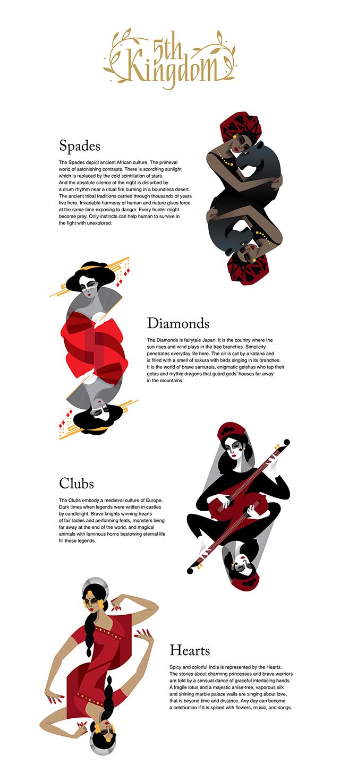 Un Duo D Illustrateurs Revisite Le Jeu De Carte Traditionnel Inspirations Graphiques